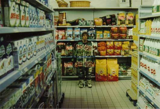urban camouflage supermarket