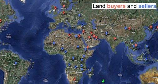[Land buyers and sellers, via mongabay.com]