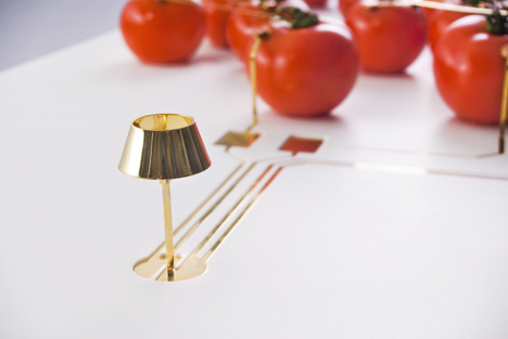 tomato light milan furniture fair on off salonesatellite