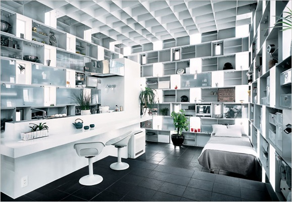 Yasuhiro Yamashita, kyosho jutaku, Japan Micro house, Japanese Micro, tile facade, micro green building,