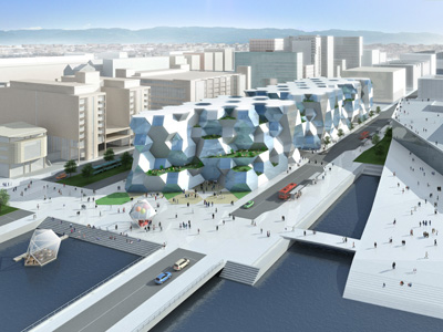 The New Deichman Main Library Competition in Oslo, Norway, 2008-2009