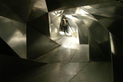 Life Tunnel, (Psycho Building, Hayward Gallery, London) 2008