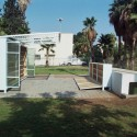 The Garden Library for Refugees and Migrant Workers / Yoav Meiri Architects © Y.Meiri