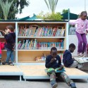 The Garden Library for Refugees and Migrant Workers / Yoav Meiri Architects © T.Rogovski