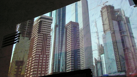 Postopolis! LA - Projection