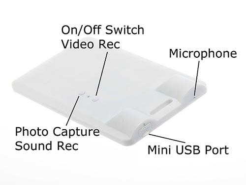 pass card spy camera