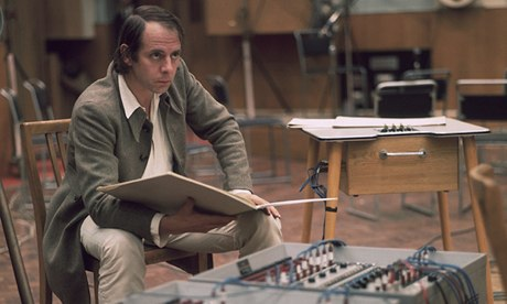 German Composer Karlheinz Stockhausen