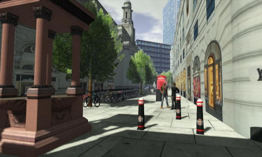 City-simulation company Simudyne creates computerised models to aid disaster-response planning.