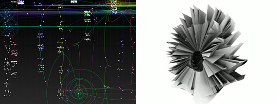 Information visualization: Social Collider / Synchronous Objects
