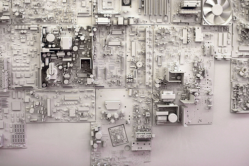 Motherboard wall