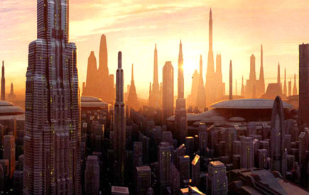Photo: Coruscant Cityscape